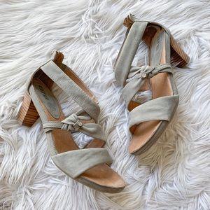 NEW Ara Genuine Leather Strappy Sandal Heels 7.5